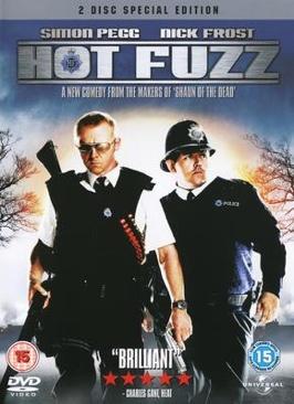 Hot Fuzz - DVD cover