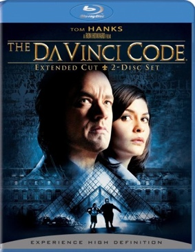 The Da Vinci Code - Blu-ray cover