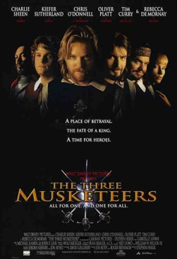 The Three Musketeers - DVD cover