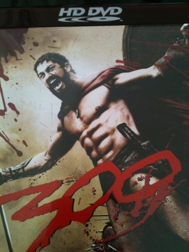 300 - HD DVD cover