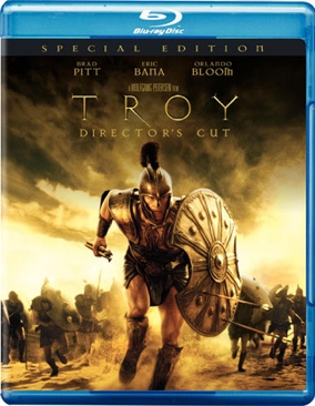 Troy - Blu-ray cover
