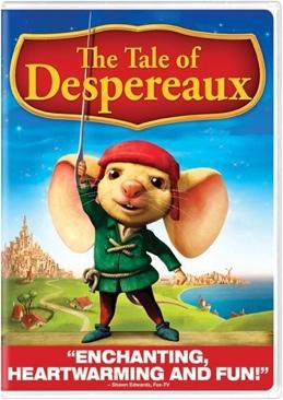 The Tale of Despereaux - Laser Disc cover