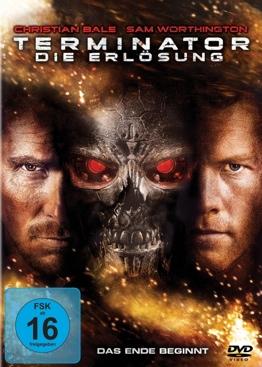 Terminator 4 - DVD cover