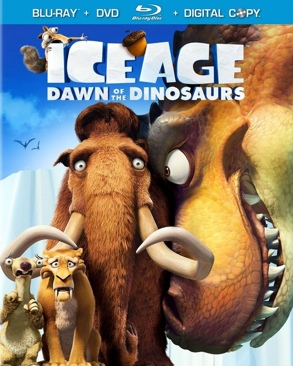 Ice Age: Dawn of the Dinosaurs - Blu-ray cover