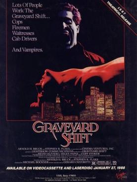 Graveyard Shift - VHS cover