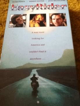 Easy Rider - VHS cover
