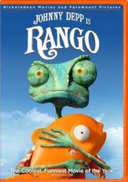 Rango - DVD cover