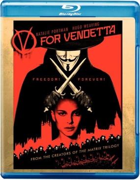 V for Vendetta - Blu-ray cover