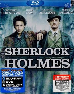 Sherlock Holmes - Blu-ray cover