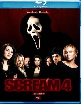 Scream 4 - Blu-ray cover