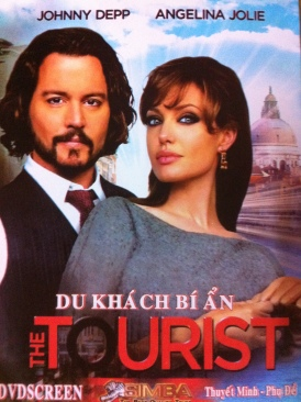 The Tourist - DVD cover