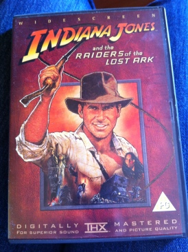Raiders Of The Lost Ark - DVD cover