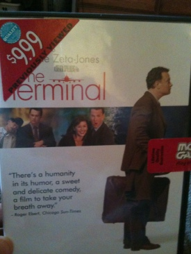 The Terminal - DVD cover
