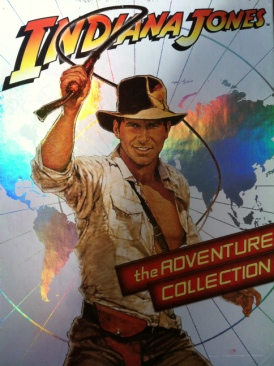 Indiana Jones The Adventure Collection - DVD cover