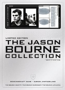 The Jason Bourne Collection - HD DVD cover
