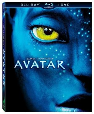 Avatar - Blu-ray cover