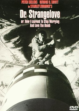 Dr. Strangelove or: How I Learned to Stop Worrying and Love the Bomb - DVD-R cover
