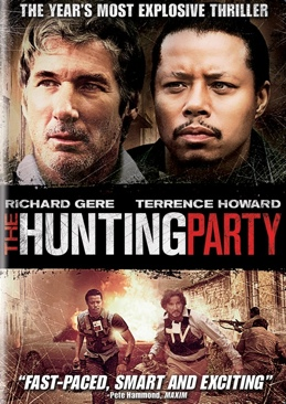 The Hunting Party - DVD cover