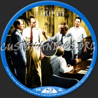 12 Angry Men - Blu-ray cover