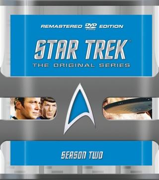 Star Trek: TOS - DVD cover