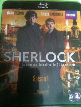 Sherlock - Blu-ray cover