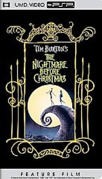 The Nightmare Before Christmas - UMD cover