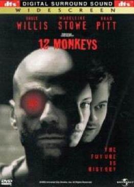 12 Monkeys - DVD cover