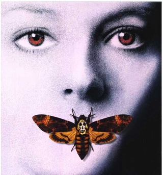 The Silence of the Lambs - DVD-R cover