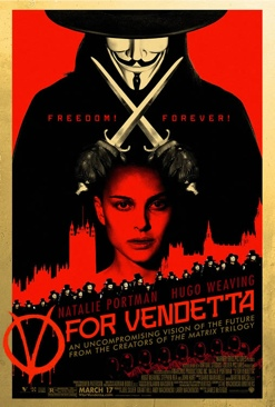V for Vendetta - DVD-R cover