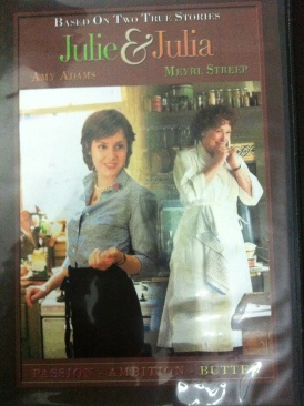 Julie and Julia - DVD cover