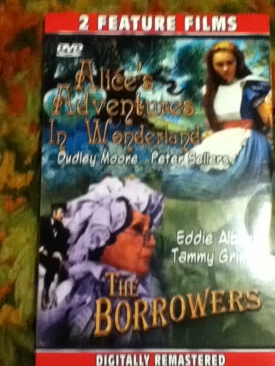 Alice's Adventures in Wonderland - DVD cover