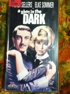 A Shot in the Dark - VHS cover