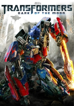 Transformers 3: Dark Of The Moon - DVD cover