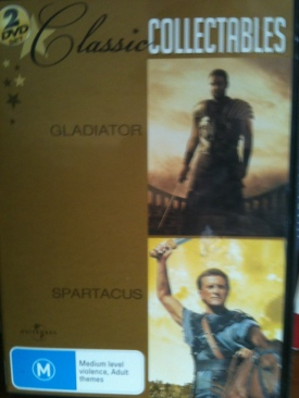 Gladiator - DVD cover