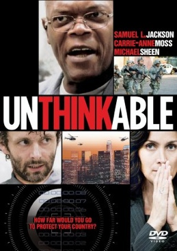 Unthinkable - Blu-ray cover