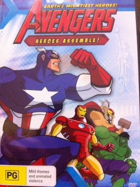 Anime, The Avengers - Heroes Assemble! - CED cover