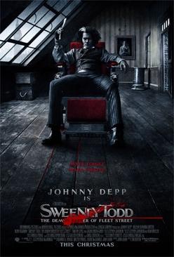 Sweeney Todd: The Demon Barber Of Fleet Street - DVD cover