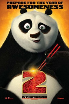 Kung Fu Panda 2 - HD DVD cover