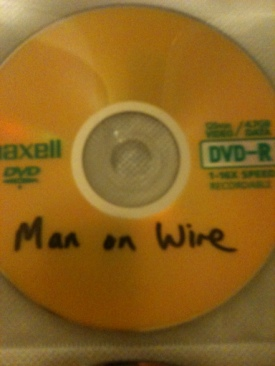Man On Wire - DVD-R cover