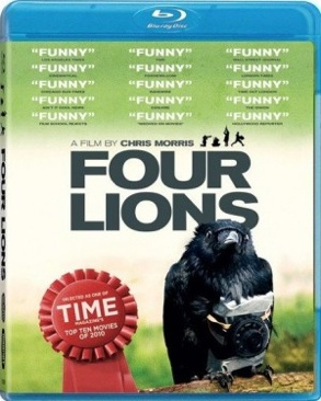 Four Lions - Blu-ray cover