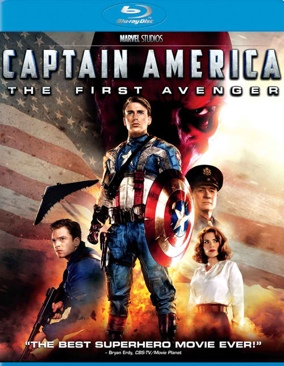 Captain America: The First Avenger - Blu-ray cover
