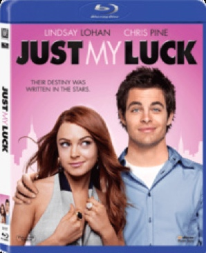 Just My Luck - Blu-ray cover