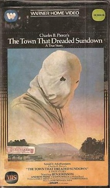The Town That Dreaded Sundown - VHS cover