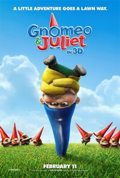 Gnomeo & Juliet - Blu-ray cover
