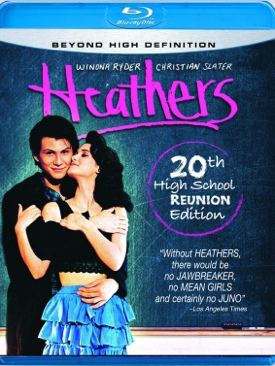 Heathers - Blu-ray cover
