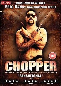 Chopper - DVD-R cover