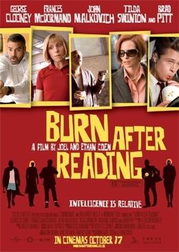 Burn After Reading - UMD cover