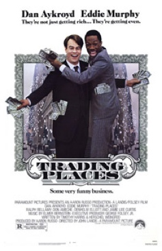 Trading Places - Laser Disc cover