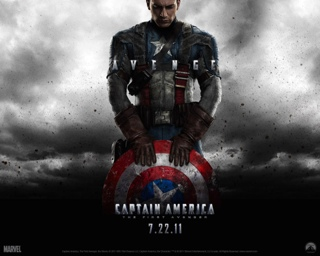 Captain America: The First Avenger - Laser Disc cover