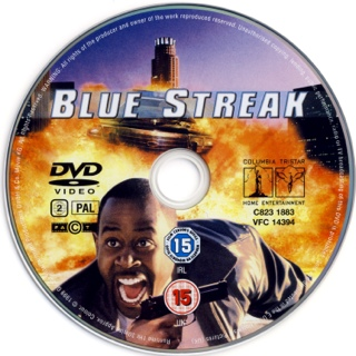 Blue Streak - DVD-R cover